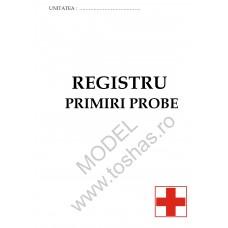 REGISTRU PRIMIRE PROBE